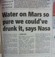 """And every Whovian in the world shouted """"DON'T DRINK IT!"""""""
