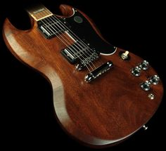 gibson - sg '61 reissue. worn brown.