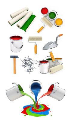 Home improvement tools PSD