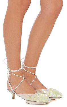Mid Heel Shoe by DELPOZO Now Available on Moda Operandi