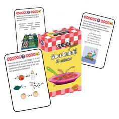 Quiz it! junior: Woordenbrij : 50 taalkrakers / Claessens, Marijke; Bos, Amber