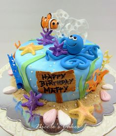 1000 Ideas About Fish Birthday Cakes On Pinterest