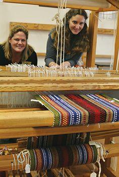 Melissa Weaver Dunning teaches Weaving at the John C. Campbell Folk School | folkschool.org