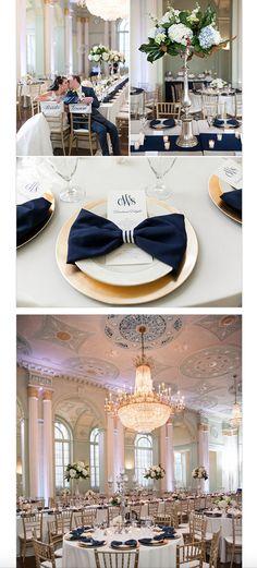 Atlanta Ballroom Wedding - *the napkins*