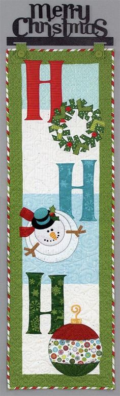 Love this Ho Ho Ho Banner! becky camacho heres another one maybe u could get this one done before next week for me for my house lol i mean if you don't have anything else to do lol!!!
