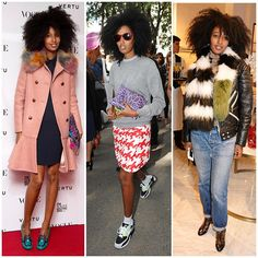 The 21 Best-Dressed Women Right Now - Julia Sarr-Jamois, editor of Wonderland magazine and a bonafide street style star. She has a knack for mixing vintage pieces with new designers, and is the undisputed queen of bright colors, patterns, and bold fur.
