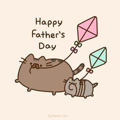 Pusheen: Father's Day