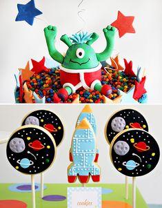 Festa no espaço