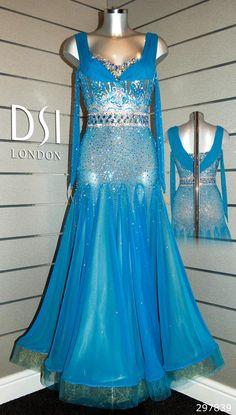 Alex Jones Capri ballroom dress