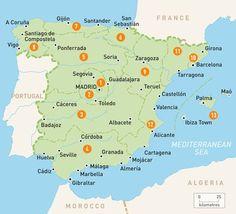 Spanish City Maps