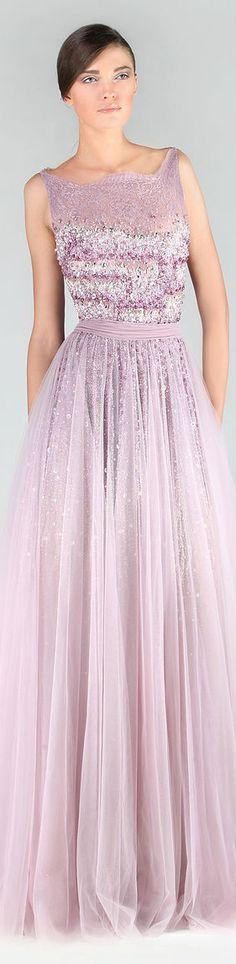 Tony Ward Couture - Summer 2013 Collection  #formal #dress #glitter <3