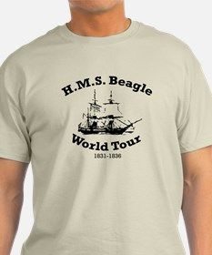 HMS Beagle world tour T-Shirt for