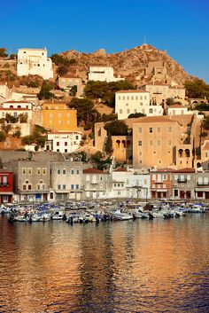 Nothing prepared me for the cobalt blue waters as we docked in the Port of Hydra island, Greece. I nearly lost my sunglasses looking into the deep blue depths!