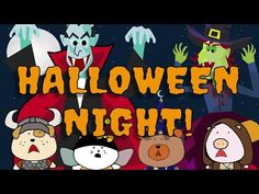 It's Halloween Tonight   Halloween Song for Kids   The Singing Walrus - YouTube