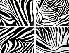 texture of zebra style fabric