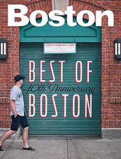 Boston Magazine (US) magazine cover