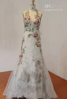 Buy cheap made flower sexy evening dresses party dresses wonderful with $151.2/Piece|DHgate