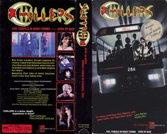 Chillers (1987) VHS