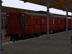 KPEV - Eilzug-Gepäckwagen, Pw4 pr04. Bis