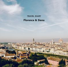 Florence & Siena Italy Travel Diary - Green Wedding Shoes