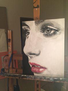 """Porcelain"" 30x40 Oil in canvas  2015"