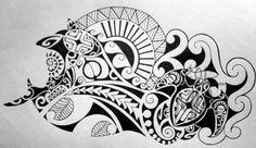 maori art | Maori Tribal Design - - Maria Acevedo - Tattoos & Fine Art