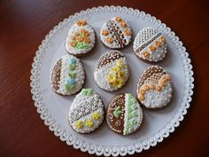 Czech Easter gingerbread - just the decoration.