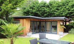 Garden Studio, Olive Gardens, Contemporary Garden, Garden Office, Home And Garden, Rooms, Outdoor Decor, Home Decor, Bedrooms