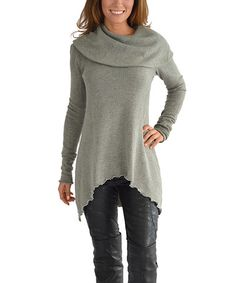 This Gray Hampton Sweater is perfect! #zulilyfinds