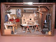 Daddy's Little Workshop by Connie Sauve