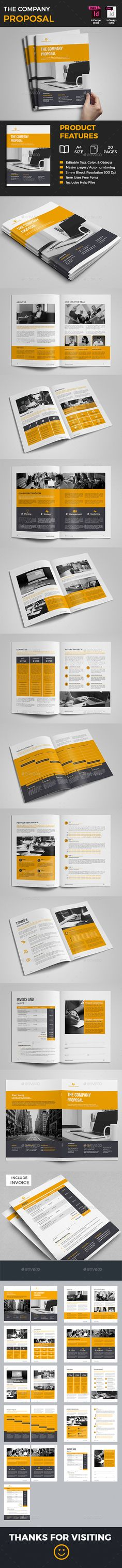 Basic Proposal Template Proposal templates, Cleaning companies - website proposal template