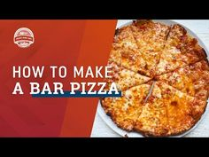 I was born in raised in Hanover, Massachusetts, a very small community south of Boston. If you're not familiar with the area, you may be unaware that it is a high density region for a pizza phenomenon known as bar pizza.