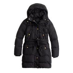 J.Crew - Wintress belted puffer coat