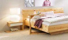 Betten aus Zirbenholz