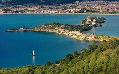 Chevalier (Şövalye) island, Fethiyé, Turkey.
