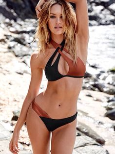 Candice Swanepoel love this Victoria's Secret bikini set
