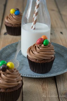 The Sweetest Taste: Cupcakes de chocolate y mantequilla de cacahuete