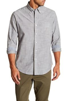 69dd946b Performance Stretch Shirt by Tailor Vintage on @nordstrom_rack Button Down  Collar, Stretches, Nordstrom
