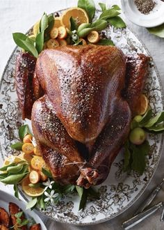 Recipe from Williams-Sonoma Meat Recipes, Gourmet Recipes, Appetizer Recipes, Appetizers, Thanksgiving Recipes, Holiday Recipes, Thanksgiving Blessings, Thanksgiving Table, Whole Turkey Recipes