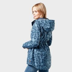 Perfect for walking on the hills and in the city, the Weird Fish Agnes Jacket is completely showerproof so that you don't have to worry about the elements Weird Fish, Long Toes, Walk On, Raincoat, High Neck Dress, Clothes For Women, Jackets, City, Dresses