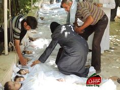 Massacre in Syria. Can't post most of the pictures I'm looking, way too graphic, especially of the children.....,