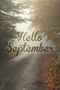 Hello September, funny how we seam to associate September with Fall, but for over half the month it is still Summer! Days And Months, Months In A Year, 12 Months, Autumnal Equinox, Hello Autumn, Hello Spring, Welcome Fall, New Month, Seasons Of The Year