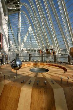 Museo de las Ciencias Príncipe Felipe. Ciudad de las Artes y las Ciencias.  #Valencia #Spain