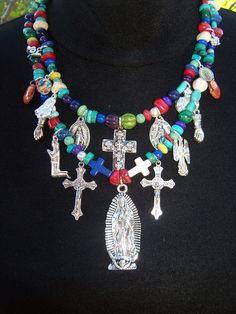 Mexican Milagro necklace