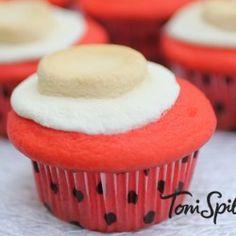 Real Red Velvet Cupcakes