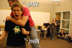 The Vlogbrothers (Hank and John Green) - vloggers/bloggers/community builders/musican (Hank)/ author (John)/nerd icons/Internet memes/EVERYTHING - I'm not sure how this board existed so long without you two on it. You guys DO THINGS. lots of them. Because don't let the fear of sharing your creations paralyze you.