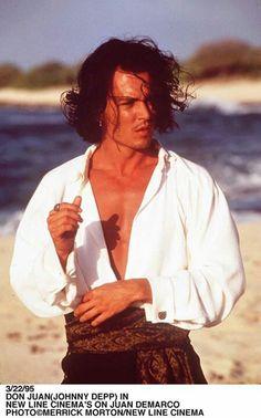 Johnny Depp in Don Juan De Marco