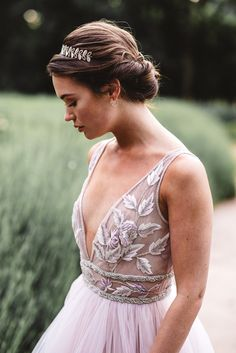 Romantic French Chateau Wedding in the Woods - Love Inc. MagLove Inc. Bridal Looks, Bridal Style, Princess Bride Wedding, Bridal Hair Updo, Bridal Hairstyles, Romantic Photos, Wedding Beauty, Dream Wedding, Wedding In The Woods