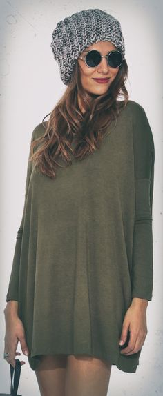 Olive Tunic Top - click to see more