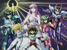 Los caballeros del zodiaco... Mi anime favorito :)